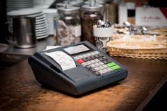 Kasa fiskalna Elzab Jota E - Elzab Jota E w restauracji
