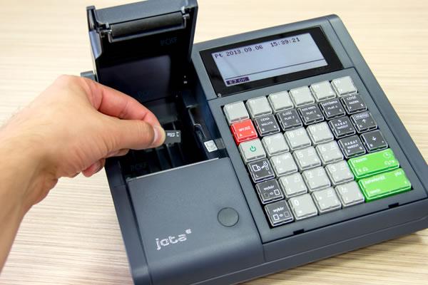 Kasa fiskalna Elzab Jota E - Innowacyjna forma realizacji kopii paragonów